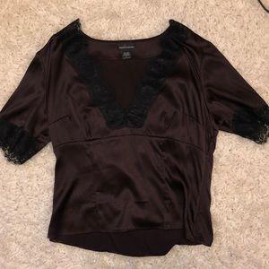 Sexy Silk Shirt